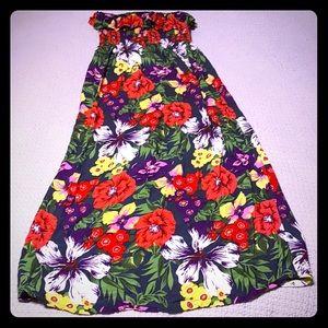 🌺 Hawaiian Luau Maxi Dress 🌺